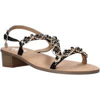 Schoenen Dames Sandalen / Open schoenen Gold&gold A21 GL607 Zwart
