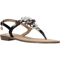 Schoenen Dames Sandalen / Open schoenen Gold&gold A21 GL628 Zwart