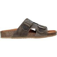 Schoenen Heren Leren slippers Bionatura 38A2175-I-CRHFAN Bruin