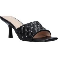 Schoenen Dames Leren slippers Gold&gold A21 GP22 Zwart