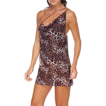 Textiel Dames Korte jurken Me Fui M20-0456X1 Bruin
