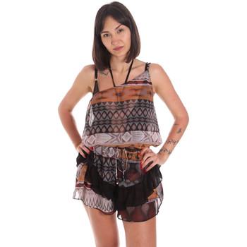 Textiel Dames Jumpsuites / Tuinbroeken Me Fui M20-0060X1 Bruin