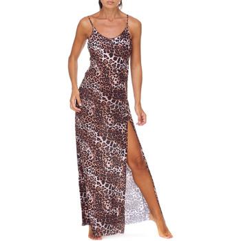 Textiel Dames Lange jurken Me Fui M20-0462X1 Bruin