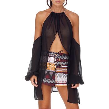 Textiel Dames Tops / Blousjes Me Fui M20-0053NR Zwart