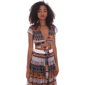 Textiel Dames Tops / Blousjes Me Fui M20-0051X1 Bruin