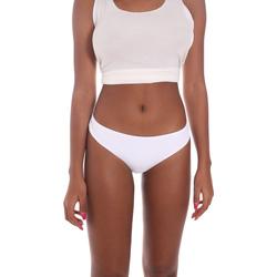 Textiel Dames Bikinibroekjes- en tops Me Fui M20-1910WH Wit