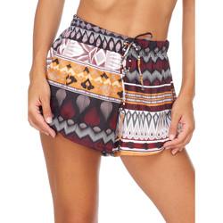 Textiel Dames Korte broeken / Bermuda's Me Fui M20-0054X1 Bruin