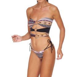 Textiel Dames Bikini's Me Fui M20-0003X1 Bruin