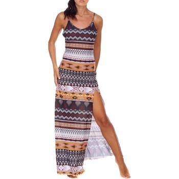 Textiel Dames Lange jurken Me Fui M20-0080X1 Bruin