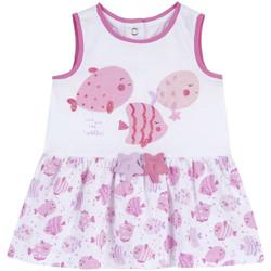 Textiel Meisjes Korte jurken Chicco 09003813000000 Wit
