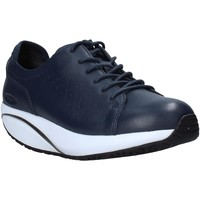 Schoenen Dames Lage sneakers Mbt 702679 Blauw