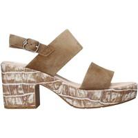Schoenen Dames Sandalen / Open schoenen CallagHan 28801 Bruin