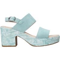 Schoenen Dames Sandalen / Open schoenen CallagHan 28801 Groen