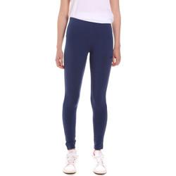 Textiel Dames Leggings Diadora 102175410 Blauw