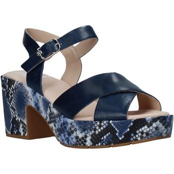 Schoenen Dames Sandalen / Open schoenen CallagHan 28800 Blauw