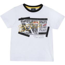 Textiel Kinderen T-shirts korte mouwen Chicco 09067290000000 Wit