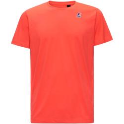 Textiel Heren T-shirts korte mouwen K-Way K007JE0 Rood