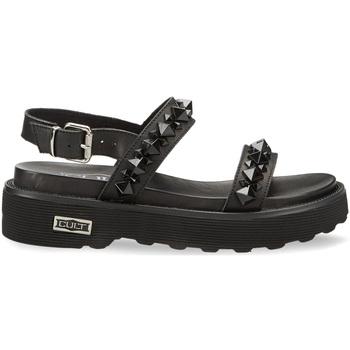 Schoenen Dames Sandalen / Open schoenen Cult CLW328600 Zwart