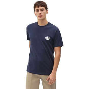 Textiel Heren T-shirts korte mouwen Dickies DK0A4XENNV01 Blauw