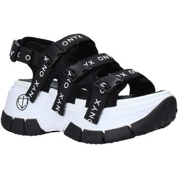 Schoenen Dames Outdoorsandalen Onyx S21-S00OX020 Zwart