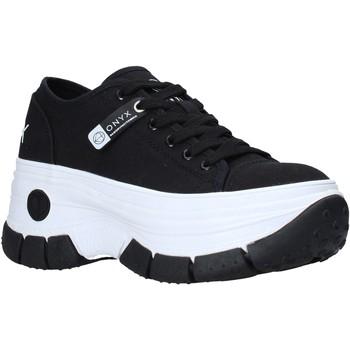 Schoenen Dames Lage sneakers Onyx S21-S00OX010 Zwart