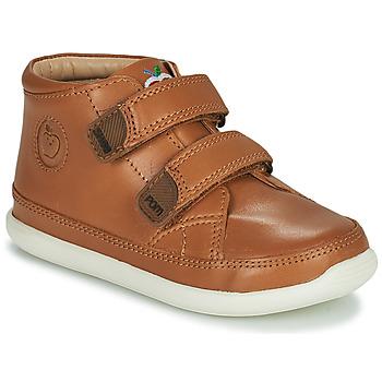 Schoenen Kinderen Hoge sneakers Shoo Pom CUPY SCRATCH Brown