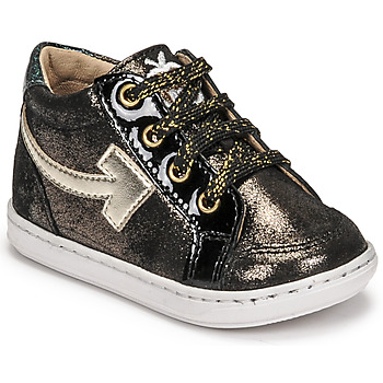 Schoenen Meisjes Hoge sneakers Shoo Pom BOUBA ARROW Zwart