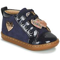 Schoenen Meisjes Hoge sneakers Shoo Pom BOUBA HEART Blauw