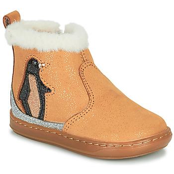 Schoenen Meisjes Laarzen Shoo Pom BOUBA ICE Brown