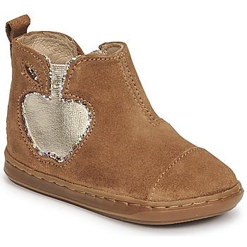 Schoenen Meisjes Laarzen Shoo Pom BOUBA NEW APPLE Brown
