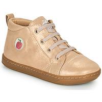 Schoenen Meisjes Hoge sneakers Shoo Pom BOUBA ZIP LACE Roze