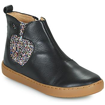 Schoenen Meisjes Laarzen Shoo Pom PLAY APPLE Zwart