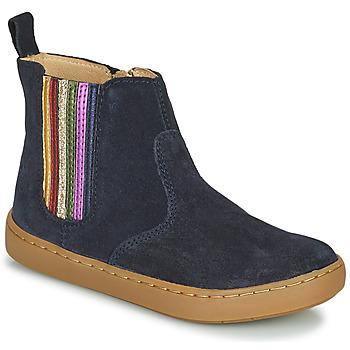 Schoenen Meisjes Laarzen Shoo Pom PLAY NEW SHINE Blauw