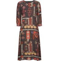 Textiel Dames Lange jurken Desigual ALBURQUERQUE Multicolour