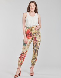 Textiel Dames Losse broeken / Harembroeken Desigual TOUCHE Multicolour