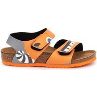 Schoenen Kinderen Sandalen / Open schoenen Birkenstock Palu Kids BS Orange