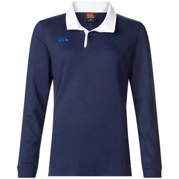Textiel Dames Polo's lange mouwen Canterbury  Blauw