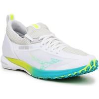 Schoenen Dames Lage sneakers Mizuno Wave Duel 2 Blanc