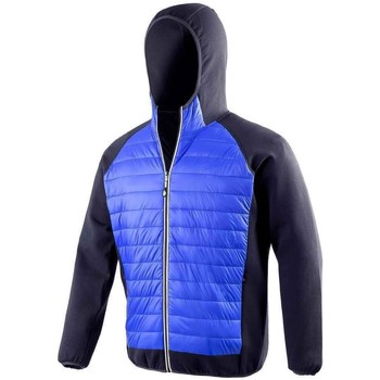 Textiel Heren Dons gevoerde jassen Spiro  Royal Blue/Navy