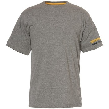 Textiel Heren T-shirts korte mouwen Caterpillar  Donkergrijs