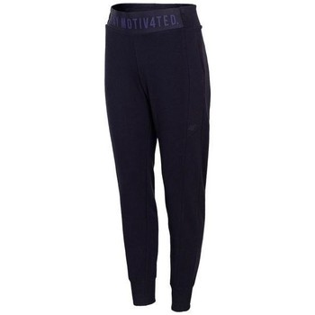 Textiel Dames Trainingsbroeken 4F SPDD013 Bleu marine