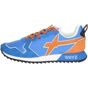Schoenen Heren Lage sneakers W6yz 0012013560.01. Light Blue