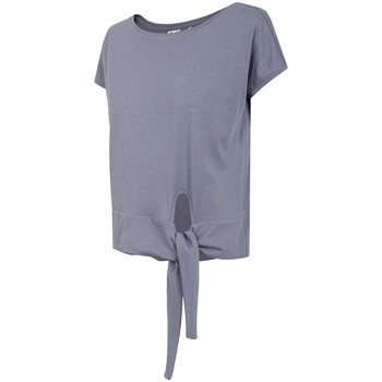 Textiel Dames T-shirts korte mouwen 4F TSD023 Violet