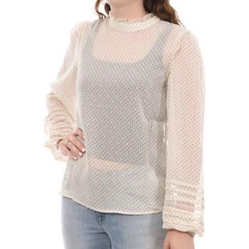 Textiel Dames Tops / Blousjes Vila  Beige