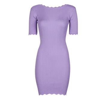 Textiel Dames Korte jurken Yurban PAULINO  lilas