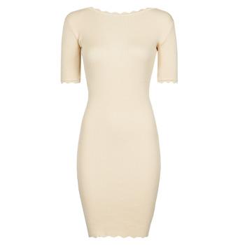 Textiel Dames Korte jurken Yurban PAULINO Beige