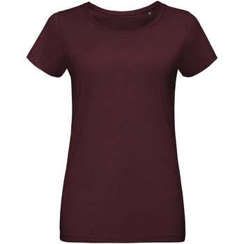 Textiel Dames T-shirts korte mouwen Sols Martin camiseta de mujer Burdeo