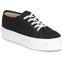 Schoenen Dames Lage sneakers Yurban SUPERTELA Zwart