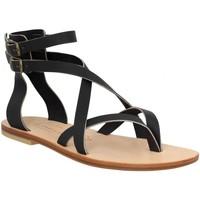 Schoenen Dames Sandalen / Open schoenen Spartiates Phoceennes 138546 Zwart