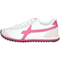 Schoenen Dames Lage sneakers W6yz 0012014540.01. White/Fuchsia